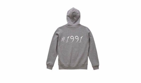 1991 big logo hoodie (gry/wh)