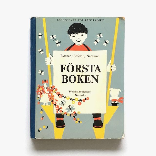 教科書「Läseböcker för lågstadiet - Första boken(低学年のための読本:第1巻)」《1963-01》