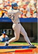 MLBカード 93FLEER Eric Karros #056 DODGERS