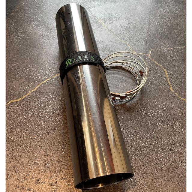 チタン製ストーブパイプ ポータブルチタンストーブL-SXLサイズ用 Titanium Stove Pipe for Wood Stove L-SXL