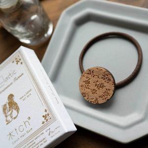 rosa glauca / ロサ・グラウカ(Hair Elastic)/ 茶