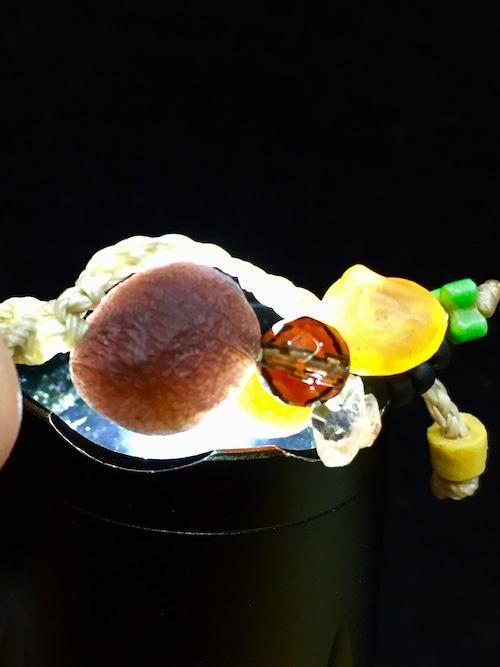 3) 紫ゴビアゲート「卑弥呼」ペンダントA