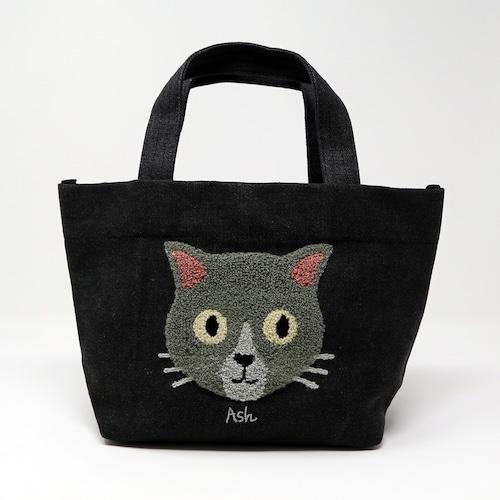 猫トートバッグ(ファミネコトートバッグ)ブラック