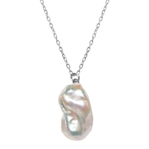 〈Sクラス〉Baroque pearl necklace|ネックレス( L size/Silver)