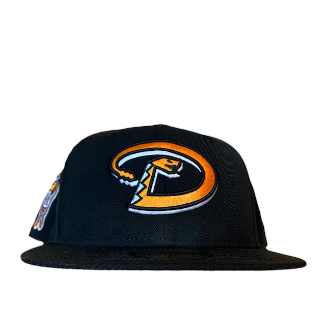NEW ERA Arizona Diamondbacks 1998 Inaugural Season 59Fifty Fitted / Black×Orange (Orange Brim)