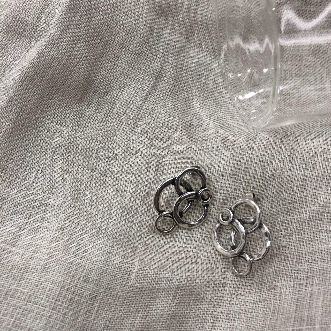 多円ピアス/silver925