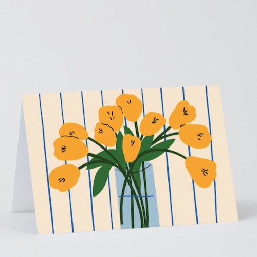 WRAP / Tulips ART CARD -Artwork by Karl-Joel Larsson-