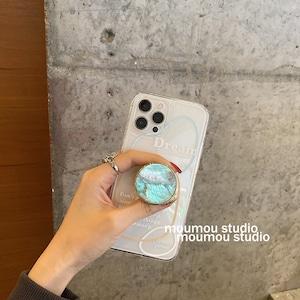 ブルーシェルポップアウトiPhoneケース S3903