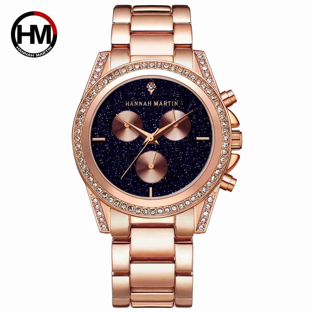 ニューデザインローズゴールドレディースウォッチジャパンクォーツムーブメントラインストーンラグジュアリーダイヤモンドレディースウォータープルーフカジュアルクリエイティブ腕時計1108 rose gold