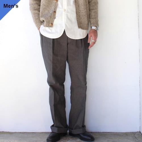 Orgueil Classic Herringbone Trousers クラシックヘリンボーントラウザー OR-1069 グレー