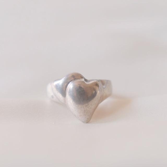 flemington silver  heart collection 3 4