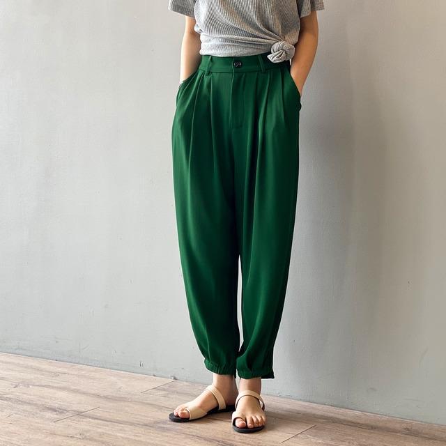 Drape casual pants KRE886