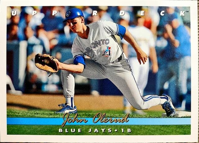 MLBカード 93UPPERDECK John Olerud #344 BLUEJAYS