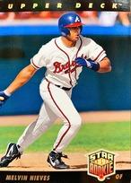 MLBカード 93UPPERDECK Melvin Nieves STAR ROOKIE  #021 BRAVES