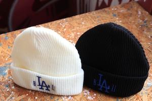 """b""""LA""""zz beanie [WHITE/BLUE]"""