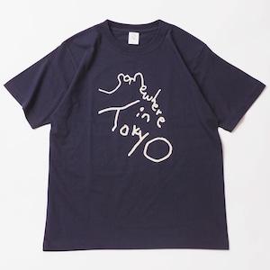 Logo Tee / Designed by Tomoo Gokita / NAVY