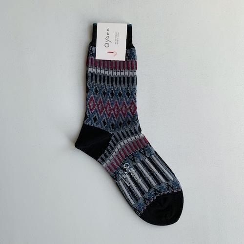 【Ayame】Basket Lunch socks/ AYM001/2002N