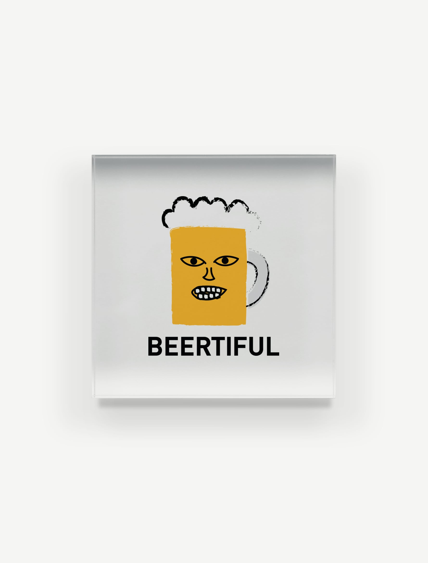 【BEERMAN】アクリルブロック
