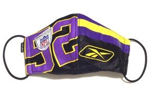 【デザイナーズマスク 吸水速乾COOLMAX使用 日本製】NFL SPORTS MASK CTMR 0225025