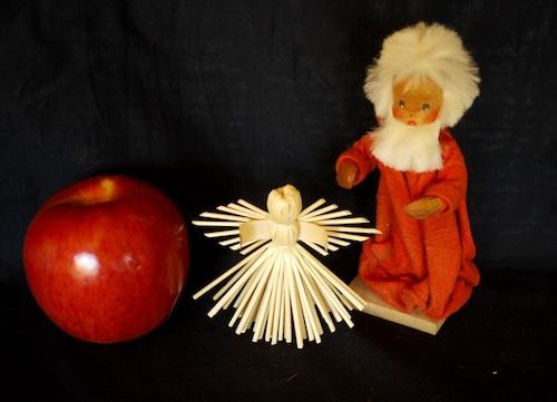 ストロー オーナメント 藁飾り 天使