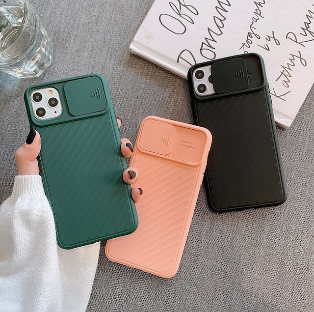 Lens protection iphone case