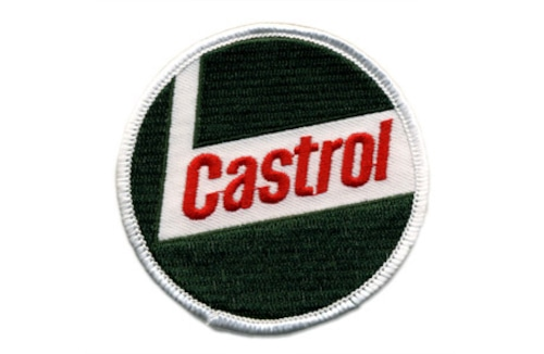カストロール・ロゴ・ワッペン