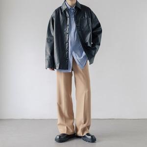 Drape straight pants   a-426