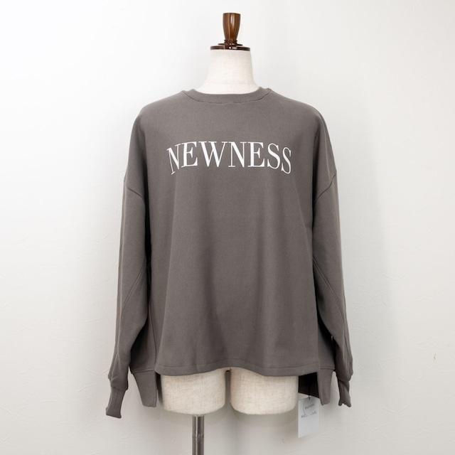 """【MICA&DEAL/マイカアンドディール】""""NEWNESS""""スウェットプルオーバー(カーキ)"""