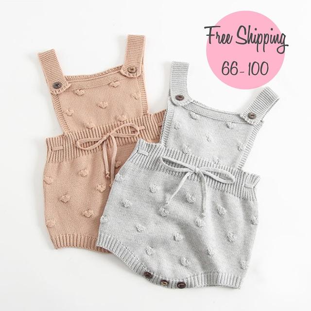 【韓国子供服】baby ニット ロンパース (502)