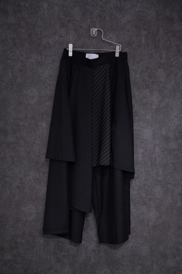 【hold】℃℃℃ flap pants   Black