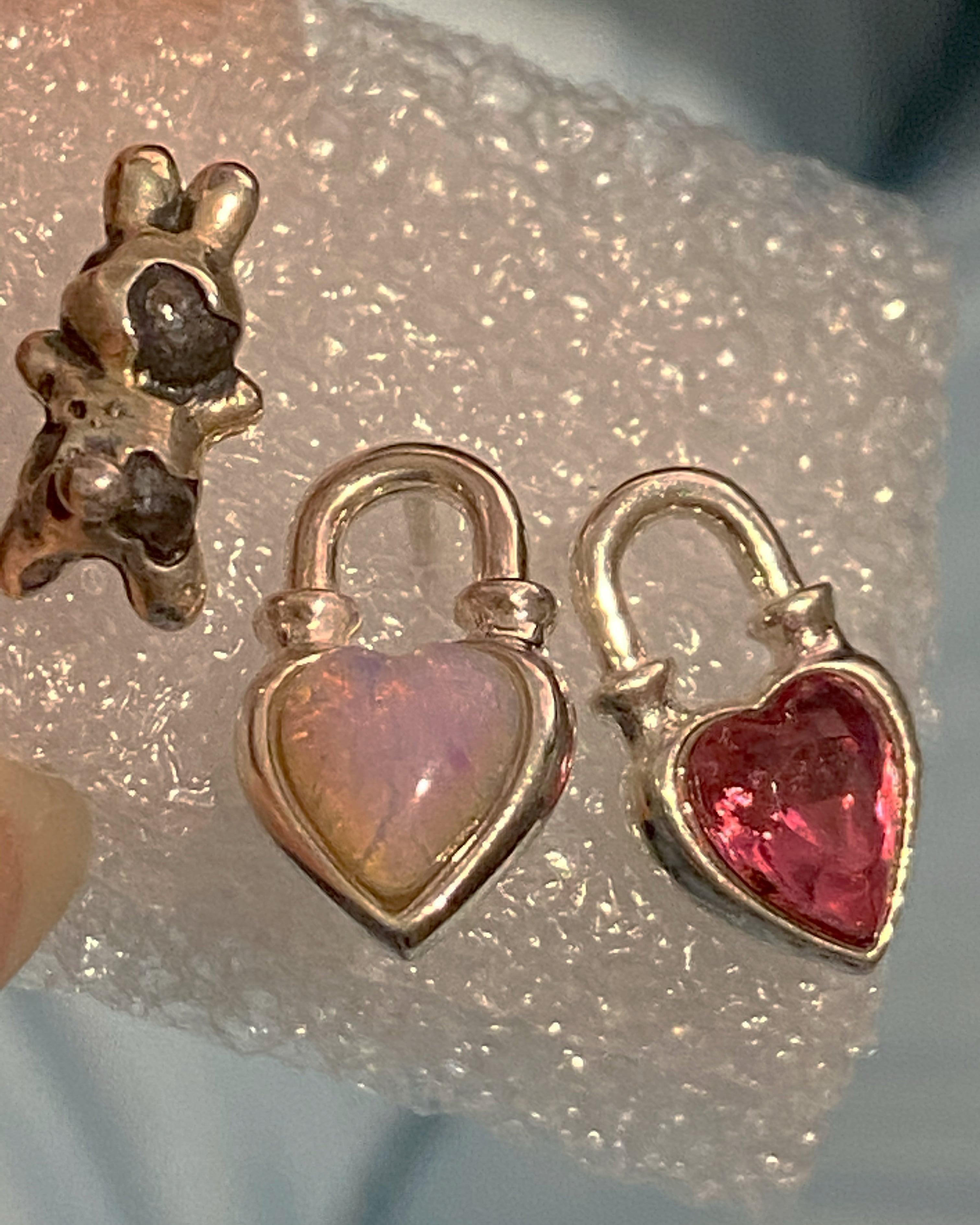 Never End® earring silver925 #LJ20034P
