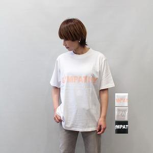 sieste peau (シエスタポー) rogo T-shirt SYMPATHY 2021春夏新作