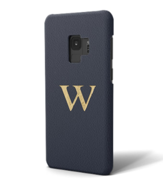 Galaxy Premium Smooth Leather Case (Midnight Blue)