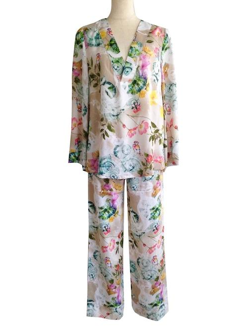 Pajama set up  Bird Cottage パジャマセットアップ バードコテージ