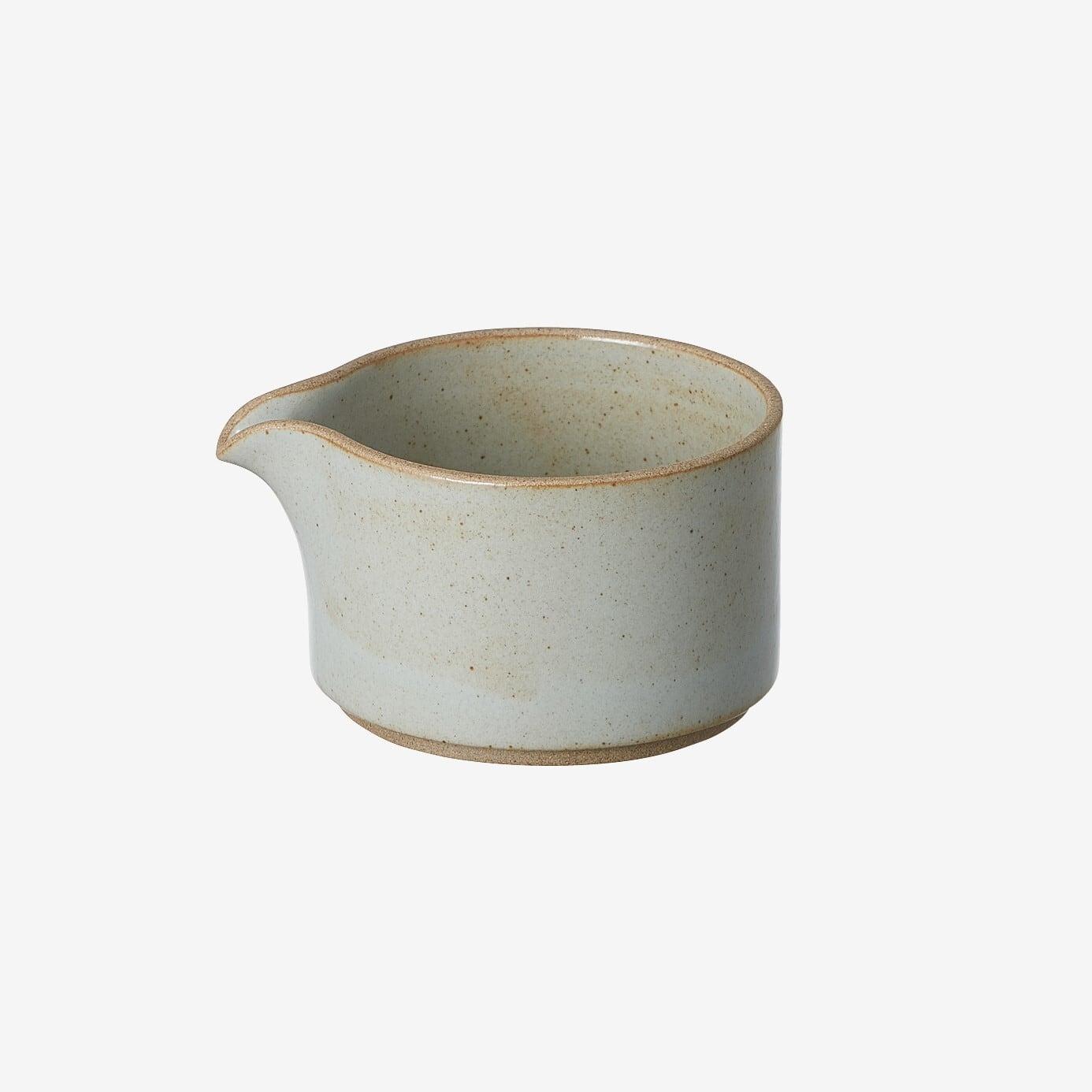 HASAMI PORCELAIN (ハサミポーセリン) Milk Pitcher (Clear / グレー) HPM028【85x72】 ミルクピッチャー