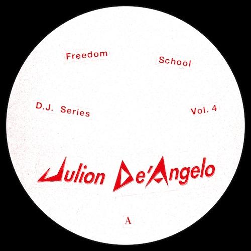 """【残りわずか/12""""】Julion De'Angelo - DJ Series Vol.4"""