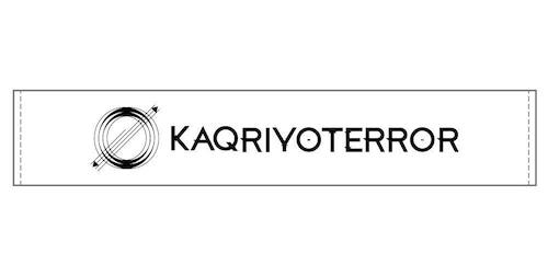 KAQRIYOTERROR ロゴタオル