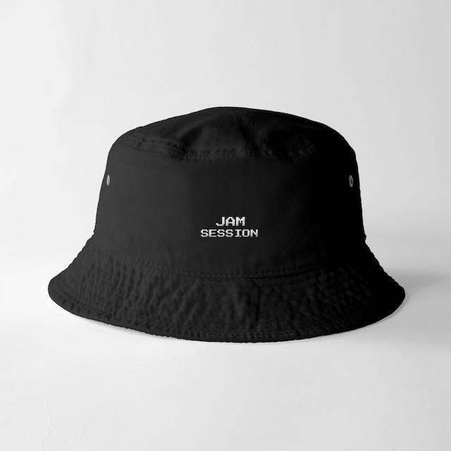 JAM SESSION BUCKET HAT (BLACK)