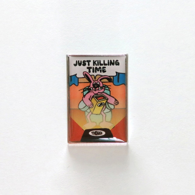 「KILLING TIME」メタル ピンバッジ