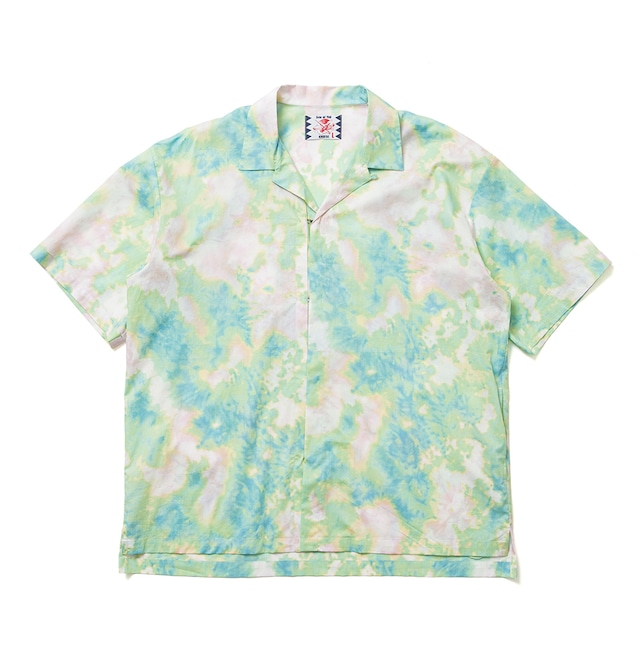 【SON OF THE CHEESE】DYE Hook Shirt / GREEN