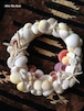 Z001 Shell Wreath Lsize