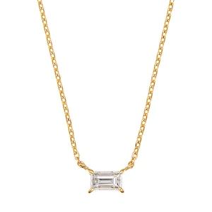 K18YGダイヤモンドネックレス 020209002700