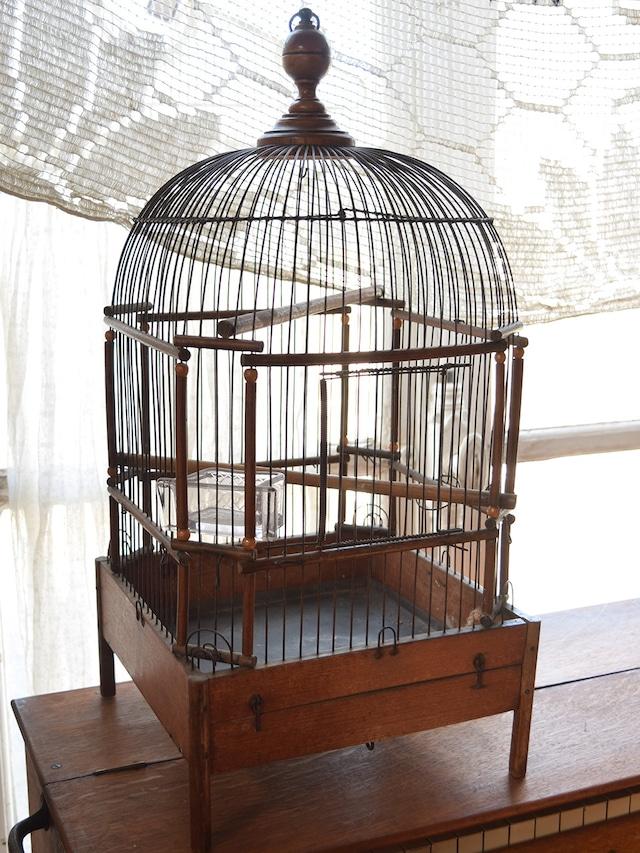 木製 鳥かご バードケージ