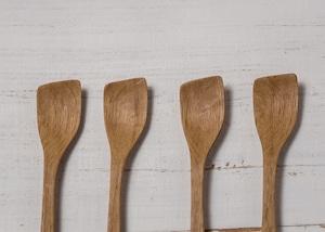 ナラ材 カップスプーン(オイルフィニッシュ・木の匙・木製カトラリー)/Canaria Wood Works