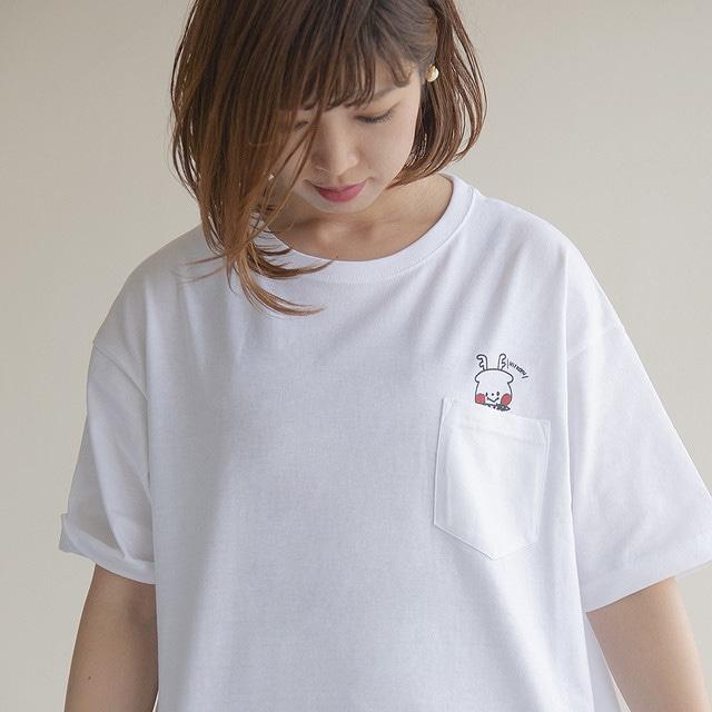 Tシャツ_ROKU POCKET