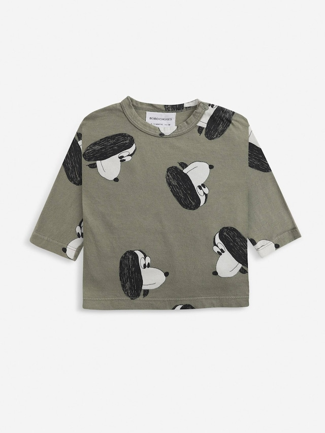 【21AW】bobochoses(ボボショセス)Doggie Long Sleeve Tshirt 長袖Tシャツ