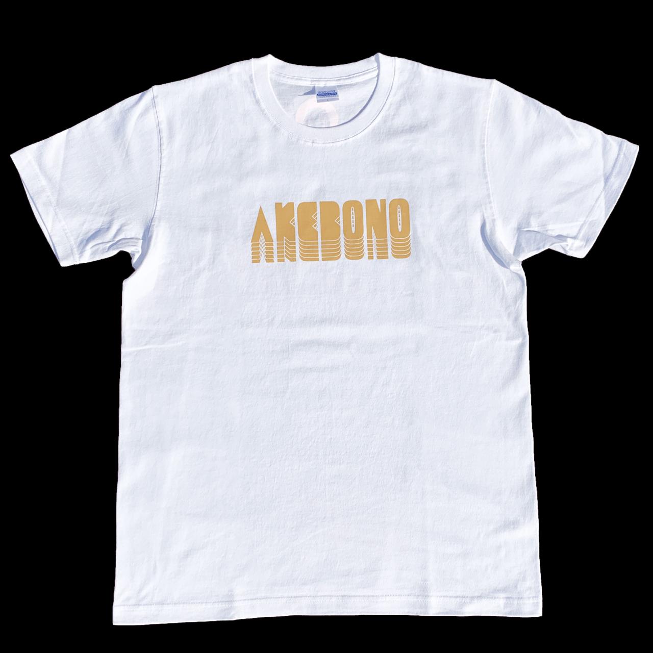 ピノキオピー - AKEBONO Tシャツ(白) - 画像1