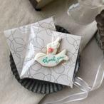 white  bird cookie - 10枚から承ります