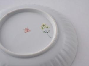 菜の花 6寸輪花皿(工房直売価格)