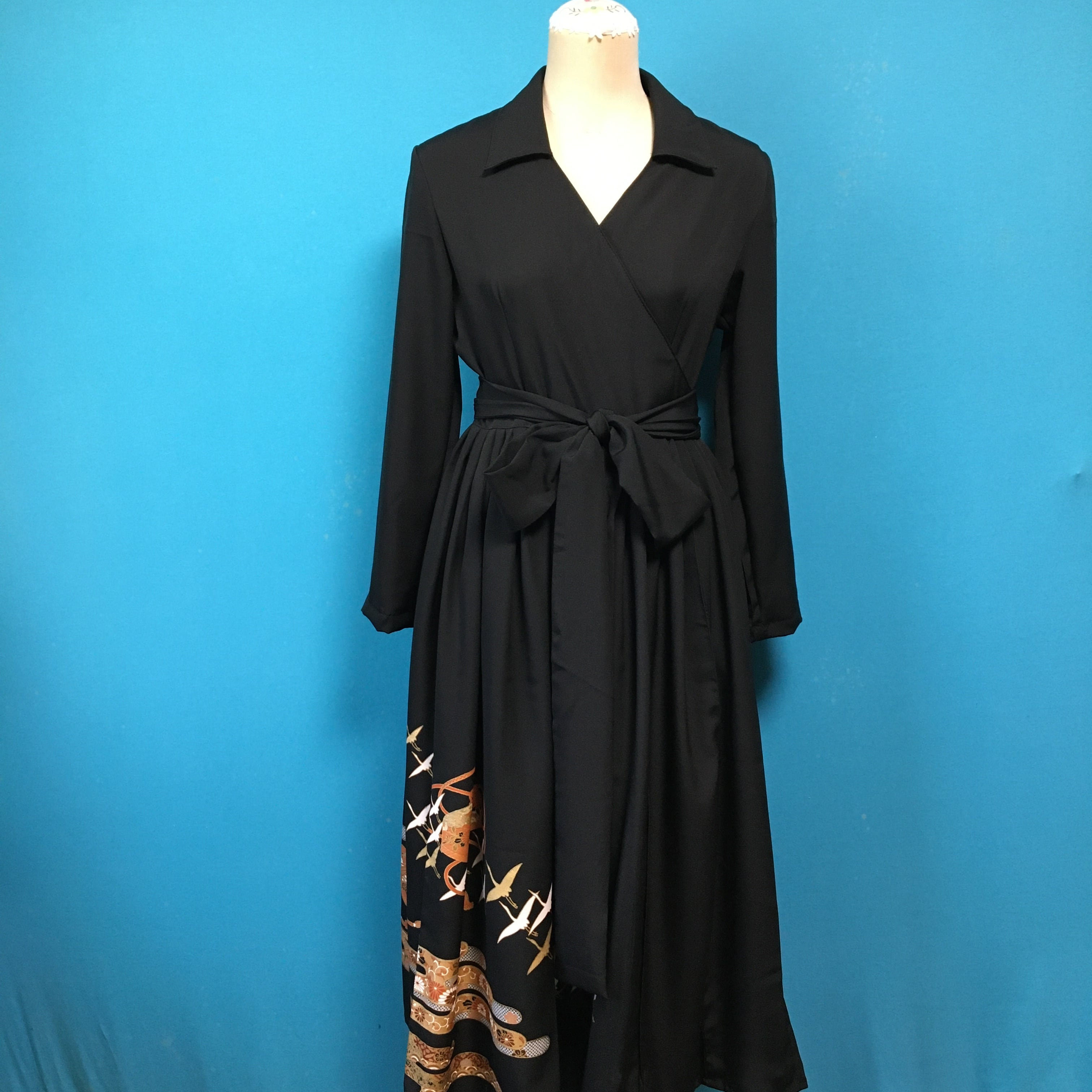 Vintage 留袖ドレス*US 8